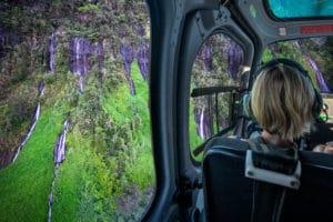 Circuit Le Grandiose : survol de la Réunion en hélicoptère de 55 minutes