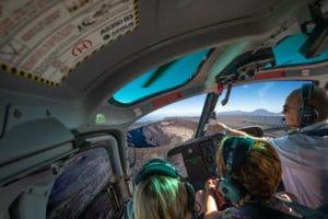 Circuit Le volcan : survol du volcan de la Réunion en hélicoptère