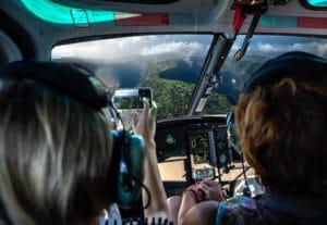 Circuit Le Complet : survol de la Réunion en hélicoptère de 45 minutes
